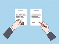 Official Notarization Of Documents Concept
